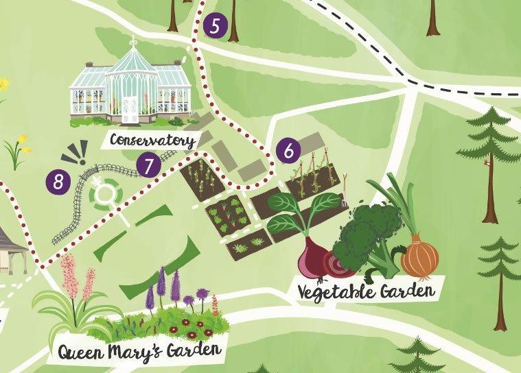 Balmoral visitor map detail