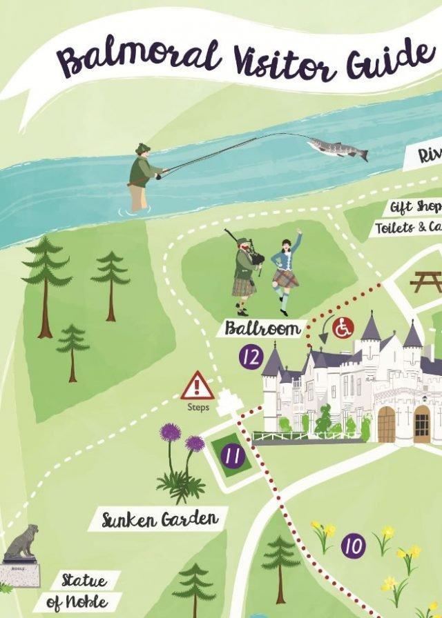Balmoral-visitor-map