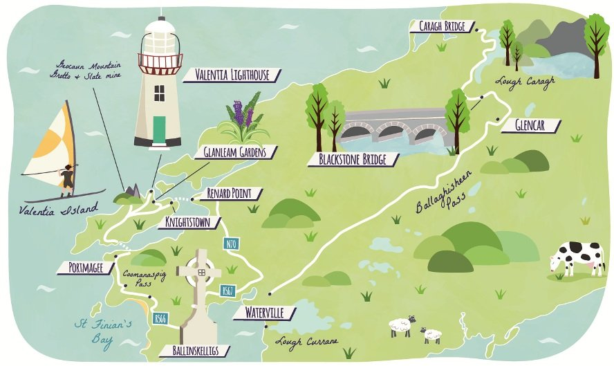 Guardian Travel road-trip maps Ireland