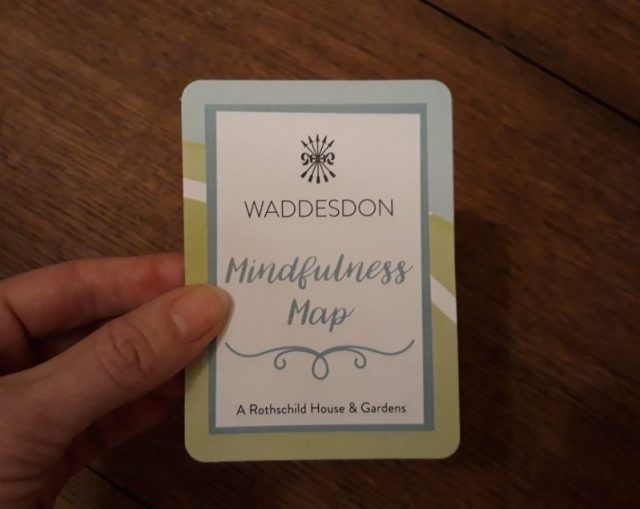 folding waddesdon mindfulness map