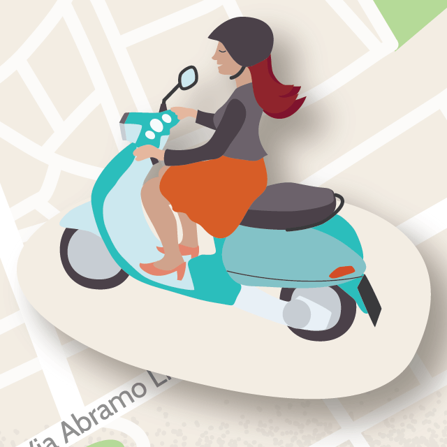 Palermo-map-vespa-scooter-woman