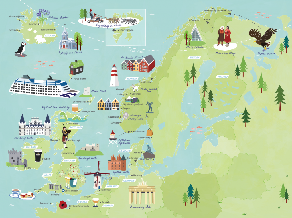 Island-princess-itinerary-Europe-map