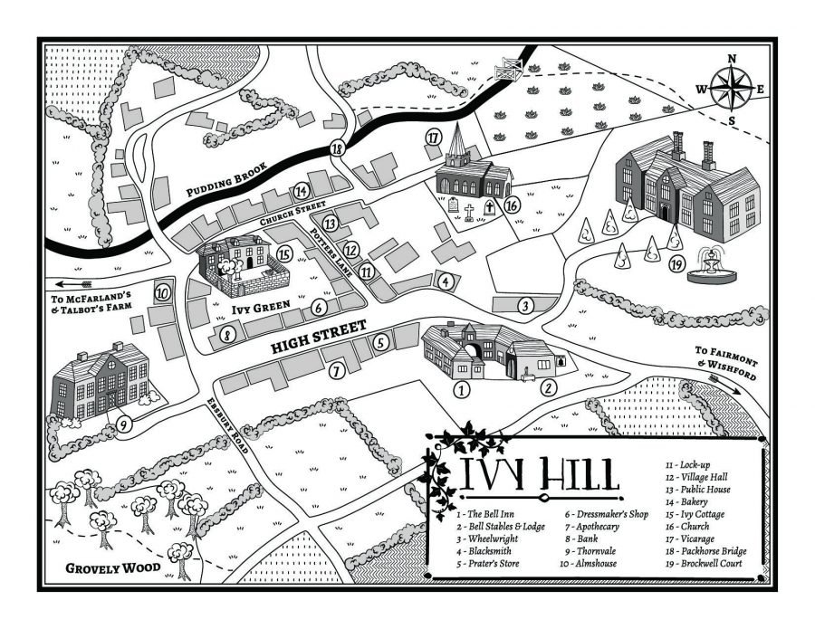 Ivy Hill historical style map