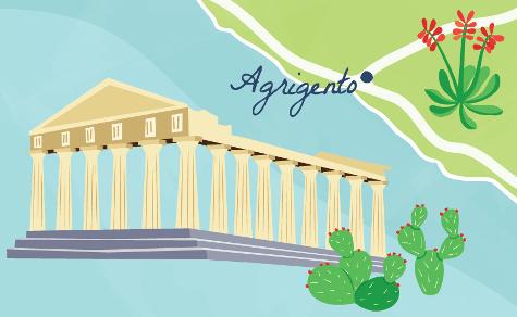 Sicily-Agrigento-map