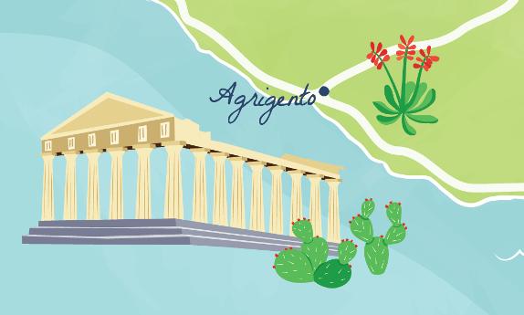 Sicily-map-Agrigento